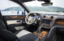 Bentley Bentayga Diesel, 2017, interior