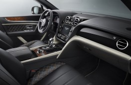 Bentley Bentayga Mulliner, 2017, interior