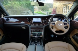 Bentley Mulsanne EWB, dashboard