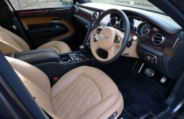 Bentley Mulsanne EWB, front seats