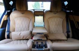 Bentley Mulsanne EWB, rear seats 2