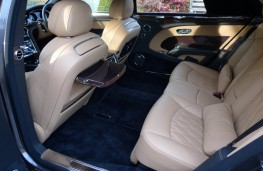 Bentley Mulsanne EWB, rear seats 3