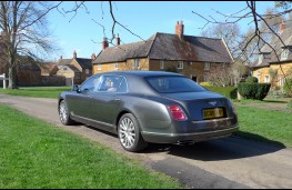 Bentley Mulsanne EWB, rear static