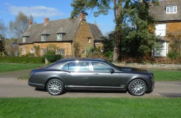 Bentley Mulsanne EWB, side static