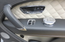 Bentley Bentayga, door detail