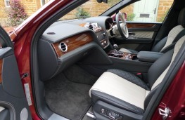 Bentley Bentayga, front seats