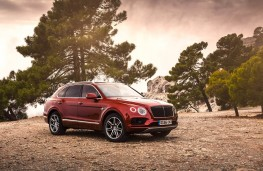 Bentley Bentayga, front static