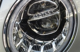 Bentley Bentayga, headlight