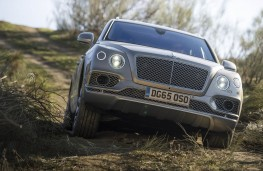 Bentley Bentayga, offroad