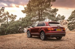 Bentley Bentayga, rear static