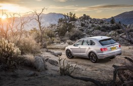 Bentley Bentayga, static scene