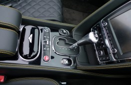 Bentley Continental, console