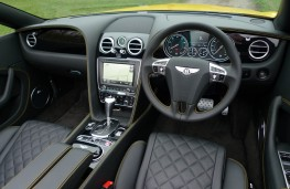 Bentley Continental, dashboard