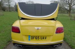 Bentley Continental, folding hood 2