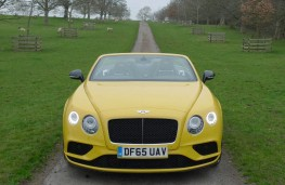 Bentley Continental, full front