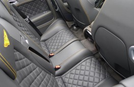 Bentley Continental, rear seats