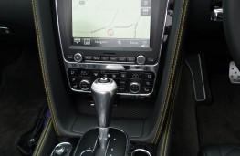Bentley Continental, sat nav