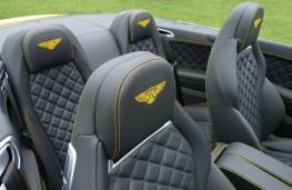 Bentley Continental, seat badges