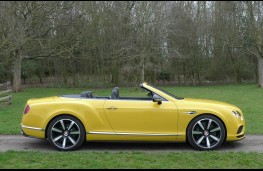 Bentley Continental, top down static