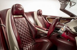 Bentley EXP 12 Speed 6e  Seats