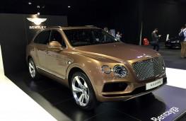 London Motor Show, 2016, Bentley Bentayga
