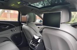 Bentley Flying Spur, rear comfort