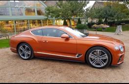 Bentley Continental GT W12, side