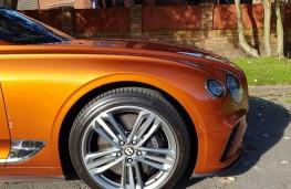 Bentley Continental GT W12, wheel