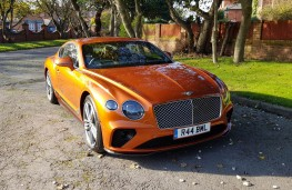 Bentley Continental GT W12, front profile