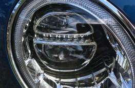 Bentley Bentayga Centenary Edition, 2019, headlights