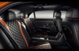 Bently Flying Spur W12S rear seats