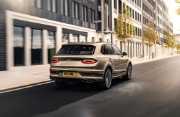 Bentley Bentayga Hybrid, 2021, rear
