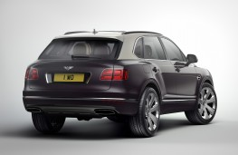 Bentley Bentayga Mulliner, 2017, rear