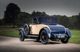Bentley 4½ Litre, 1928, rear