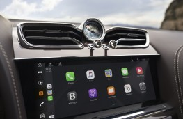 Bentley Bentayga, 2020, display screen