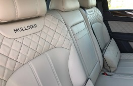 Bentley Bentayga Centenary Edition, 2019, rear seats