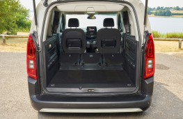 Citroen Berlingo, 2018, boot, maximum