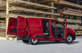 Citroen Berlingo, 2019, doors open