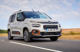 Citroen Berlingo, 2018, front
