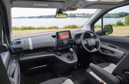 Citroen Berlingo, 2018, interior