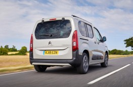 Citroen Berlingo, 2018, rear