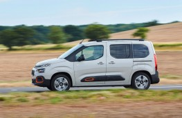Citroen Berlingo, 2018, side, action