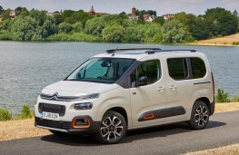 Citroen Berlingo, 2018, side, static