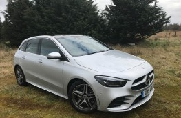 Mercedes-Benz B-Class, 2019, front, profile