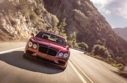 Bentley Flying Spur V8 S, 2016, front