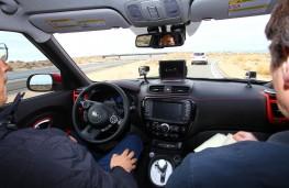 Kia Soul, autonomous vehicle development, interior