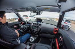 Kia Soul, autonomous vehicle development, interior, testing