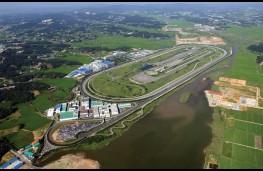 Kia test track, Namyang, aerial view