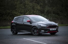 Ford Focus Black Edition, front, static