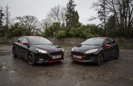 Ford Focus Black Edition with Ford Fiesta Black Edition
